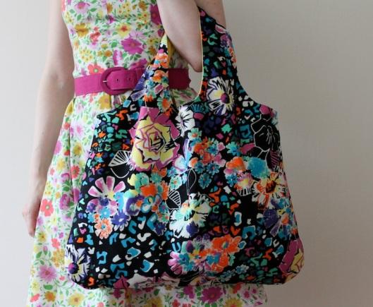 birthday giveaway, blog o szyciu, eko torba, handmade bag, recznie robiona torba, sama uszylam, sewing, shopping bag, szycie, torba na zakupy, torebka handmade