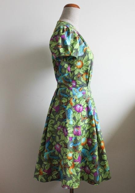 blog o szyciu, blog krawiecki, szycie na maszynie, szycie ubrań, retro sukienka, szycie sukienek