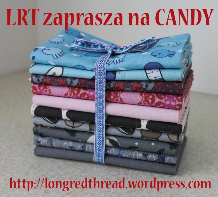candy longred thread, bawełna patchworkowa, ładne tkaniny, bawełna czaszki, bawełna wieloryby, bawełna chomiki, tkaniny do wygrania
